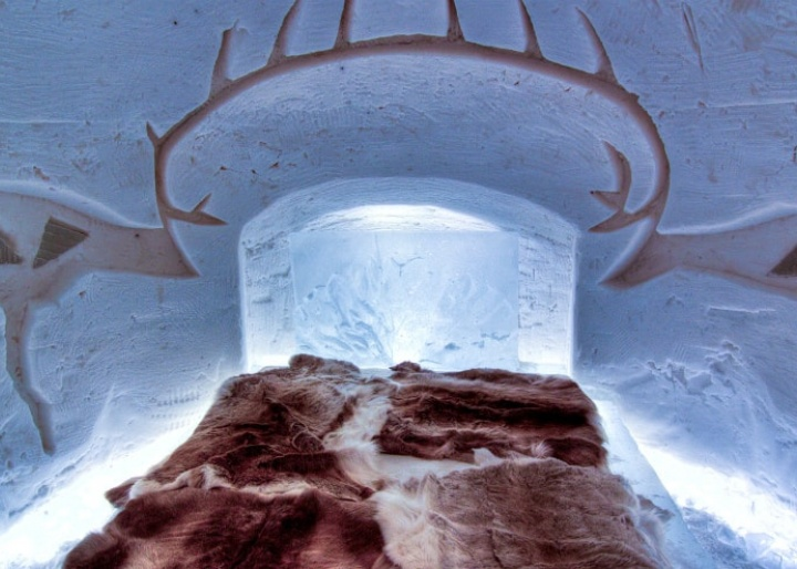 Arctic Snow Hotel & Glass Igloos, Lapland region